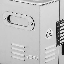 Nouveau En Acier Inoxydable 3 L Litres Industrie Chauffant Chauffe Nettoyeur À Ultrasons Withtimer