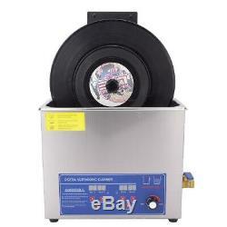 Nouveau Ultrasons Enregistrement Cleaner Rack Enregistrement Relevable Lavage Nettoyage Support Sp