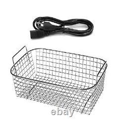 Pro 15l Nettoyeurs Ultrasoniques Nettoyage Équipement 6 Ensembles Transducers Basket