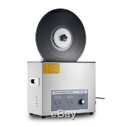 Relevable Disque Vinyle Nettoyeur À Ultrasons Lp Album Disque Turntable Lave-linge