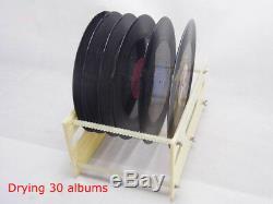 Relevable Disque Vinyle Nettoyeur À Ultrasons Lp Timing Lave-linge 110v Nouvelle