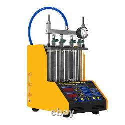 Testeur D'injection D'impulsions Injecteur À Ultrasons 0.8m Panneau Led 110/220v