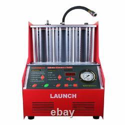 Testeur Original De Machine De Nettoyeur Ultrasonique D'injecteur De Carburant De Voiture De Lancement Automatique Cnc602a