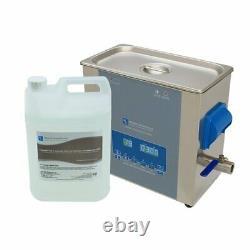 Ultrasonic Cleaner Kit 6 Litre Pièces De Machine Et Carburateurs Mécanicien Machiniste