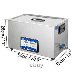 Ultrasonic Cleaner Ultrasonic Machine 22l 240with480w, Degas Digital Sonic Cleaner