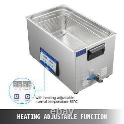Ultrasonic Cleaner Ultrasonic Machine 30l 300/600w Degas Digital Sonic Cleaner