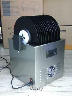 Ultrasonic-record-cleaner Diy Puissance Réglable Et Fréquence Variable 15 Enregistrements