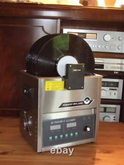 Ultrasonic-record-cleaner-diy Puissance Réglable Et Fréquence Variable 10 Enregistrements