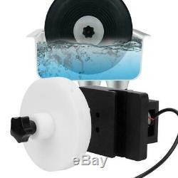 Ultrasons Disque Vinyle Cleaner Rack Réglable Machine De Nettoyage Puissance 630 ° / Min