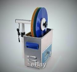 Ultrasons Disque Vinyle Système De Nettoyage Vinyle Stack 3 Lp Record Cleaner Kit