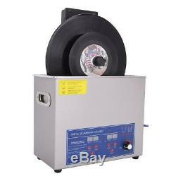 Ultrasons Enregistrement Cleaner Enregistrement Relevable Lavage Nettoyage Support 100-240 Us
