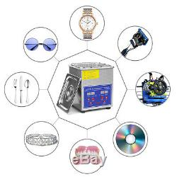 Ultrasons Nettoyant Bijoux Sonic Cleaner Machine Eyeglass / W 1.5l Chauffage Et Minuterie